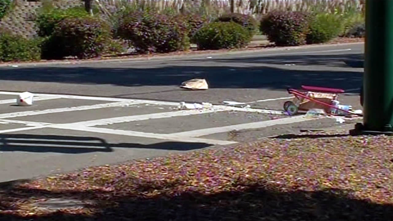 A man was fatally struck by a truck on Constitution Way and Marina Village Parkway in Alameda on Monday, September 7, 2015.