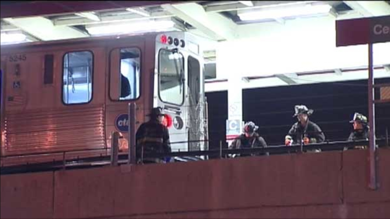 A 42-year-old man was struck and killed at the CTA Red Line Cermak-Chinatown station overnight.