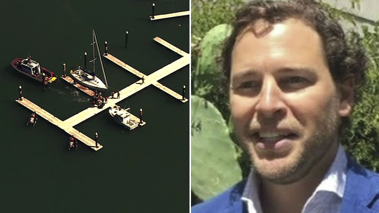 Search crews have found at Angel Island in the search area for Wouter Van Lier, Tuesday September 8, 2015.