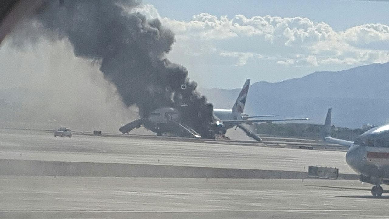 British Airways plane fire