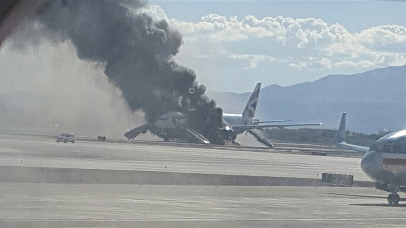 British Airways plane fire