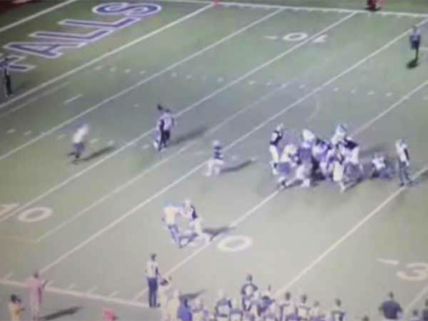 """<div class=""""meta image-caption""""><div class=""""origin-logo origin-image none""""><span>none</span></div><span class=""""caption-text"""">Two players on the John Jay High School football team came under fire after targeting a referee during a game last week.</span></div>"""
