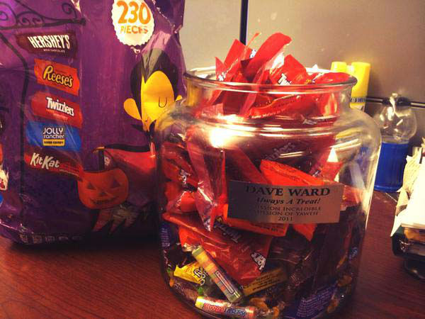 """<div class=""""meta image-caption""""><div class=""""origin-logo origin-image none""""><span>none</span></div><span class=""""caption-text"""">Someone restocked the candy jar that sits on Dave Ward's desk (KTRK Photo)</span></div>"""