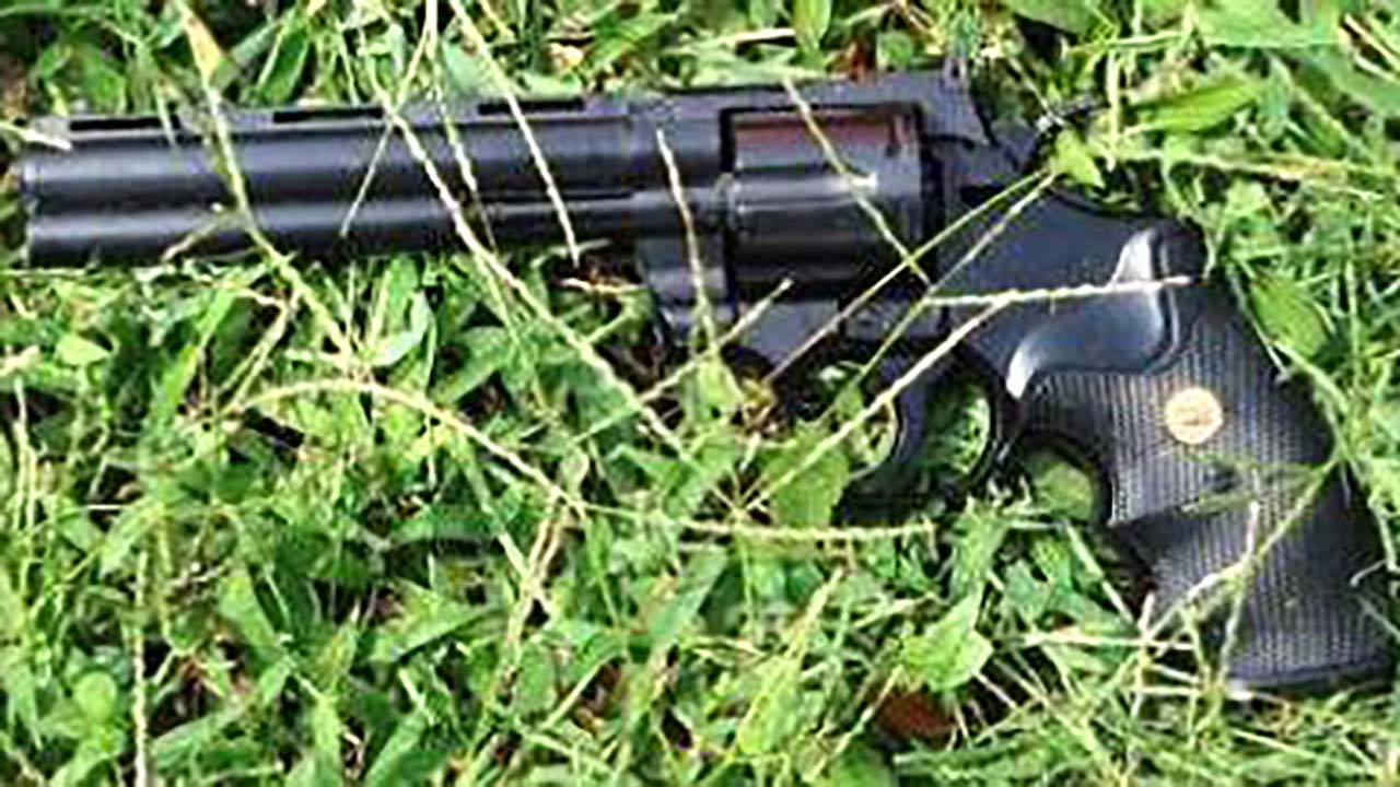 Photo of Gun Recovered from La'Vante Biggs