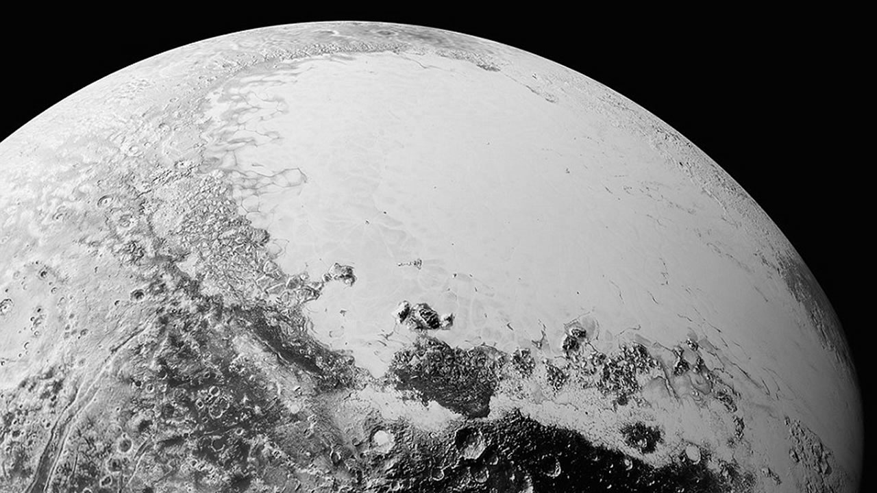 NASA released a new set of high quality images Sept. 10, 2015 take by New Horizons of the dwarf planet Pluto.