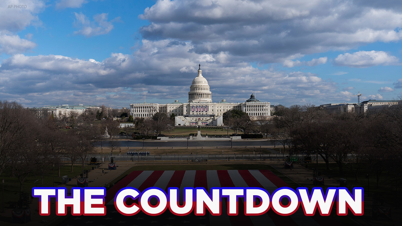 The Countdown: Security high in Washington DC with less than 48 hours till President-elect Joe Biden's inauguration