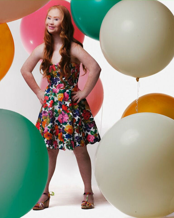 """<div class=""""meta image-caption""""><div class=""""origin-logo origin-image none""""><span>none</span></div><span class=""""caption-text"""">Madeline Stuart, the first professional adult model with Down syndrome, will be walking at New York Fashion Week on September 13. (Photo/Jade Ehlers Photography)</span></div>"""