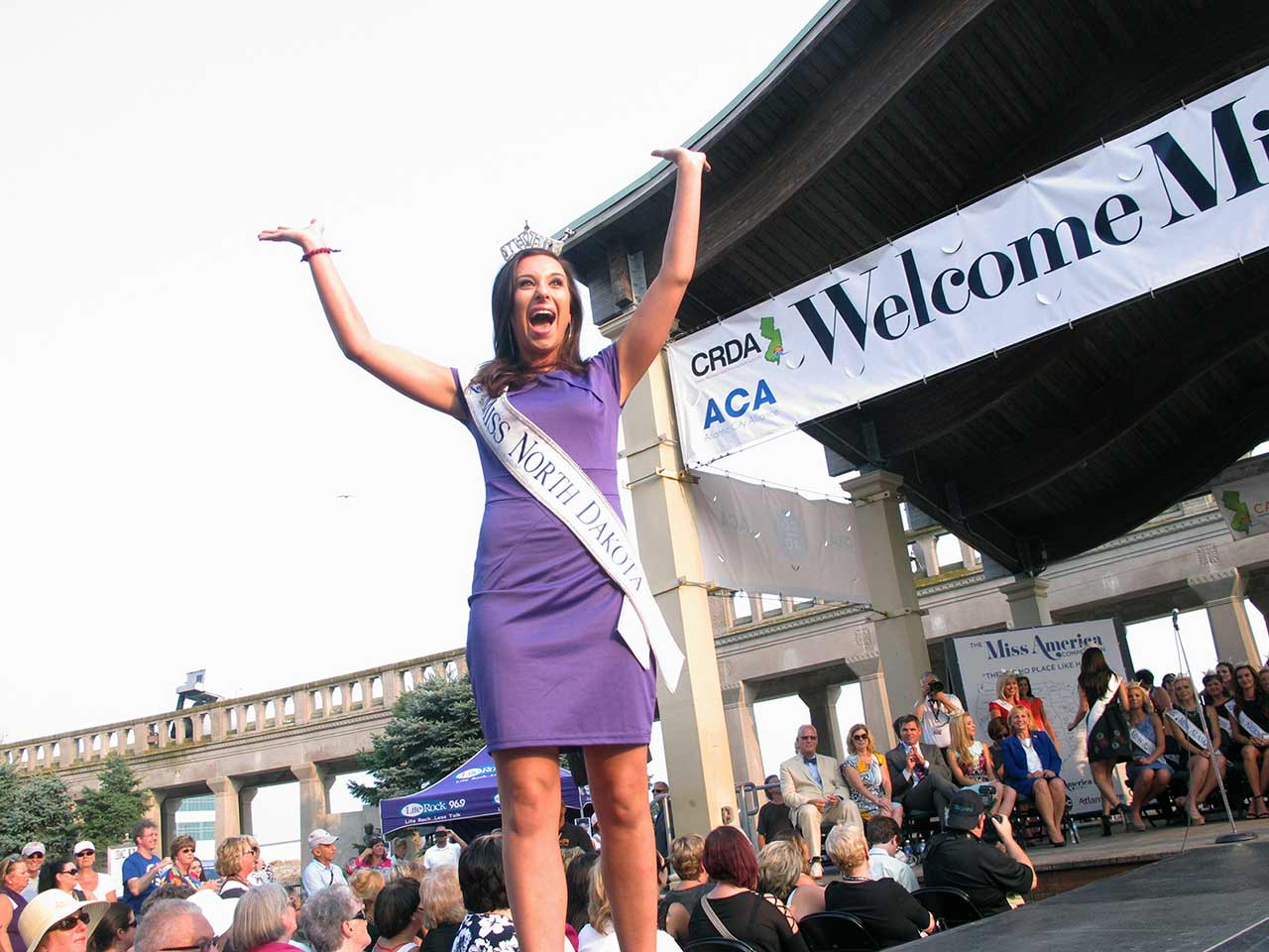 "<div class=""meta image-caption""><div class=""origin-logo origin-image ap""><span>AP</span></div><span class=""caption-text"">Miss North Dakota Delanie Wiedrich walks the runway at the traditional Miss America welcome ceremony on the Atlantic City Boardwalk on Tuesday, Sept. 1, 2015. (AP Photo/Wayne Parry)</span></div>"
