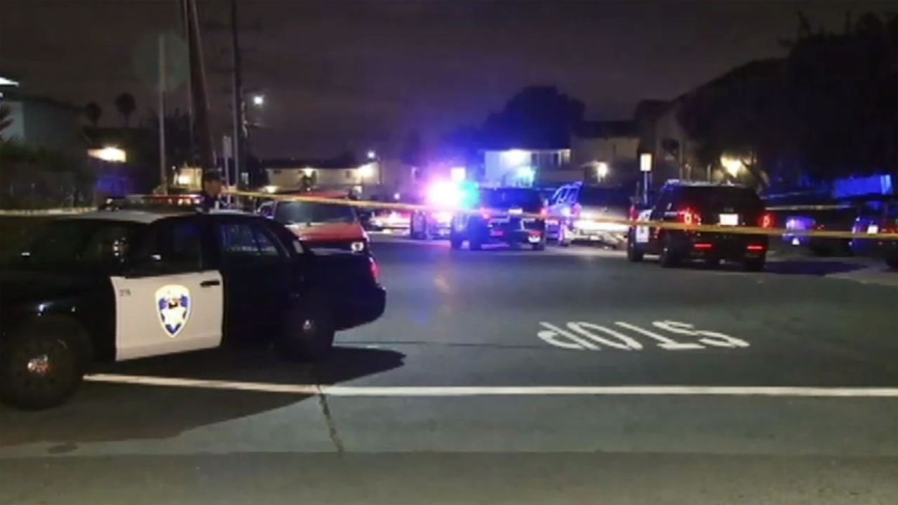 Officers arrived at Belvedere Court and Shepard Avenue in Hayward, Calif. on Saturday, September 12, 2015 to find a person near a car suffering from at least one gunshot wound.