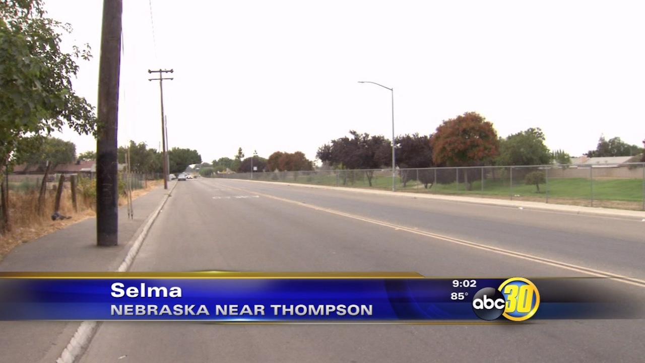 A juvenile was shot near Nebraska and Thompson avenues in Selma on Saturday, Sept. 12, 2015.