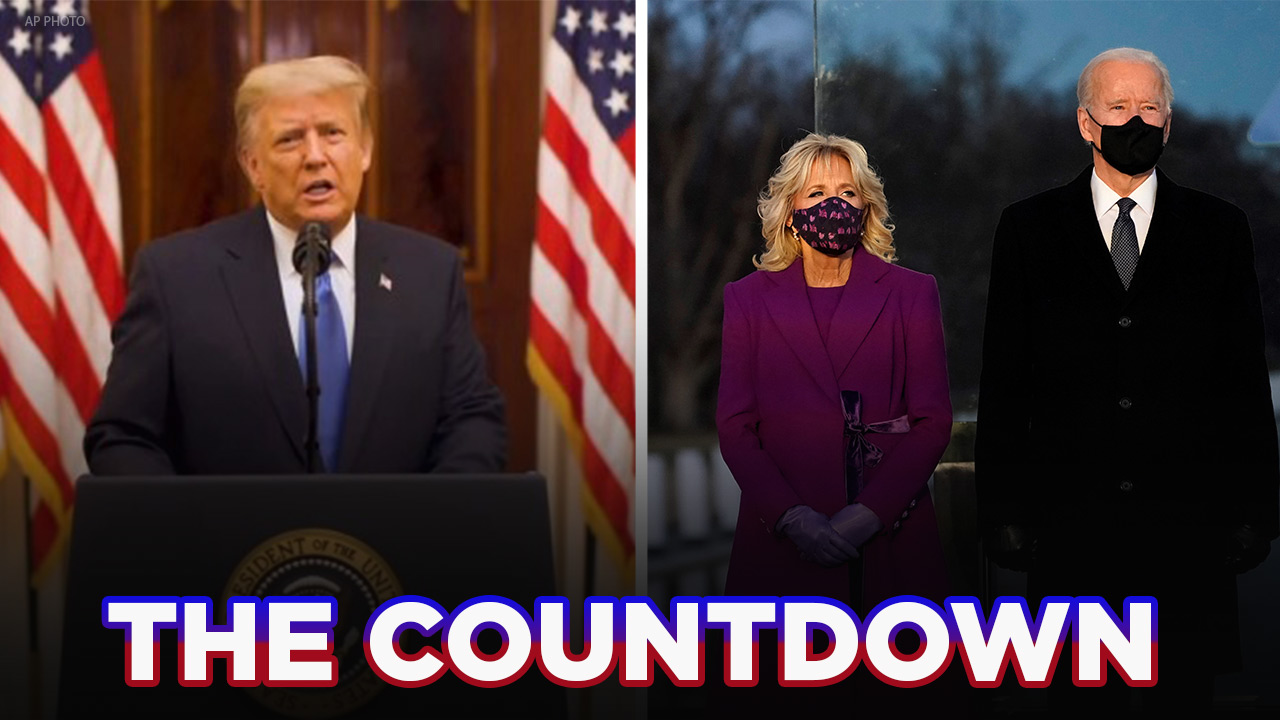 The Countdown: Trump bids farewell with call for unity, Biden visits Lincoln Memorial to honor COVID victims