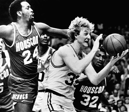 "<div class=""meta image-caption""><div class=""origin-logo origin-image none""><span>none</span></div><span class=""caption-text"">Houston Rockets Moses Malone tries to knock the ball from Boston Celtics Larry Bird (AP Photo/ Anonymous)</span></div>"
