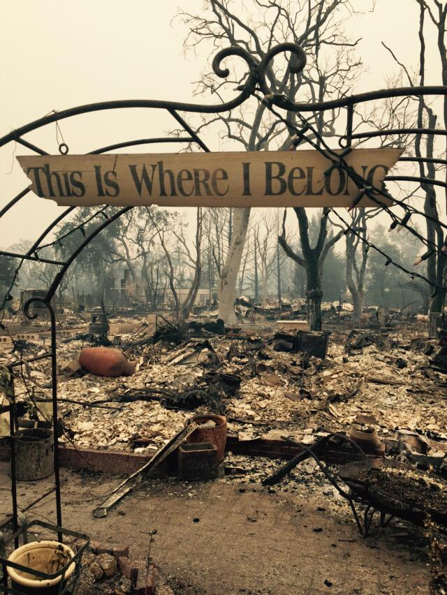 "<div class=""meta image-caption""><div class=""origin-logo origin-image none""><span>none</span></div><span class=""caption-text"">This charred archway is all that's left of a Middletown, Calif. home after the Valley Fire ripped through it on Sunday, September 13, 2015. (KGO-TV)</span></div>"