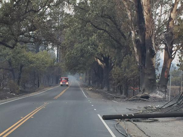 "<div class=""meta image-caption""><div class=""origin-logo origin-image none""><span>none</span></div><span class=""caption-text"">Highway 175 headed through Middletown, Calif. was blocked by PG&E crews on Monday, September 14, 2015. (KGO-TV)</span></div>"