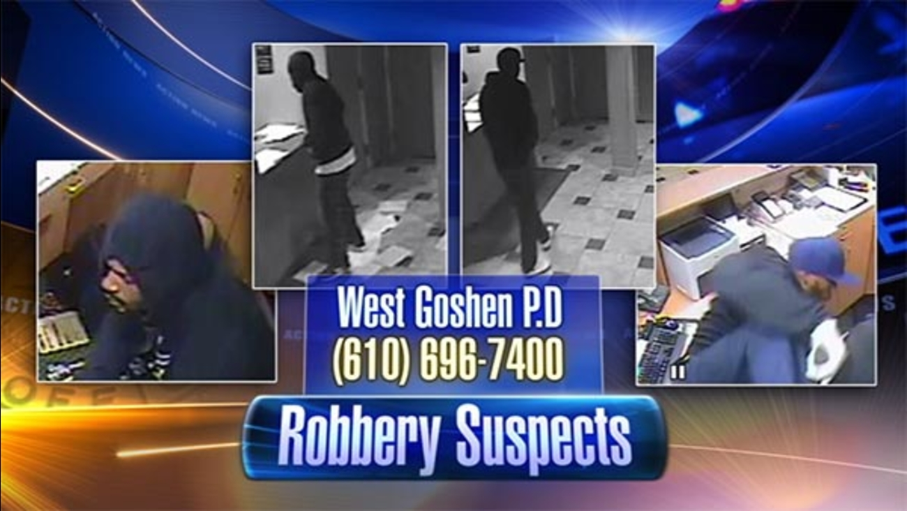 2 sought in West Chester armed robbery
