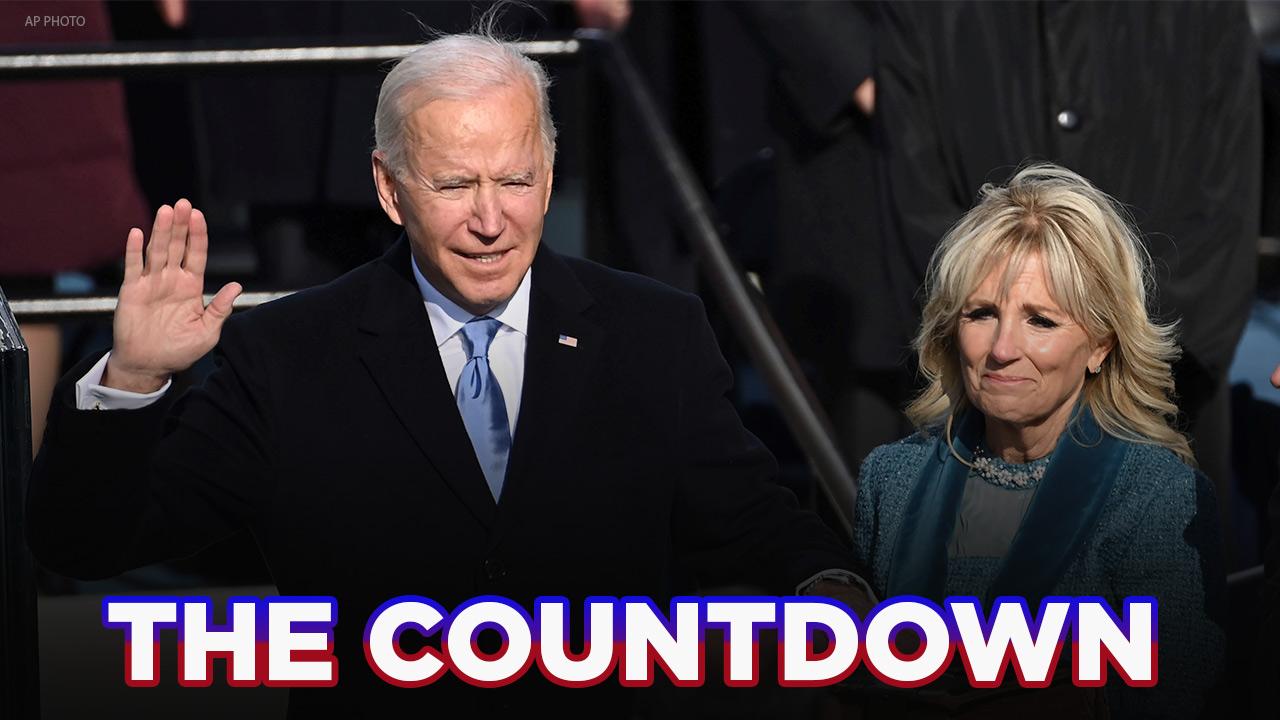 The Countdown: Joe Biden sworn in as 46th US president, Kamala Harris becomes 1st female VP