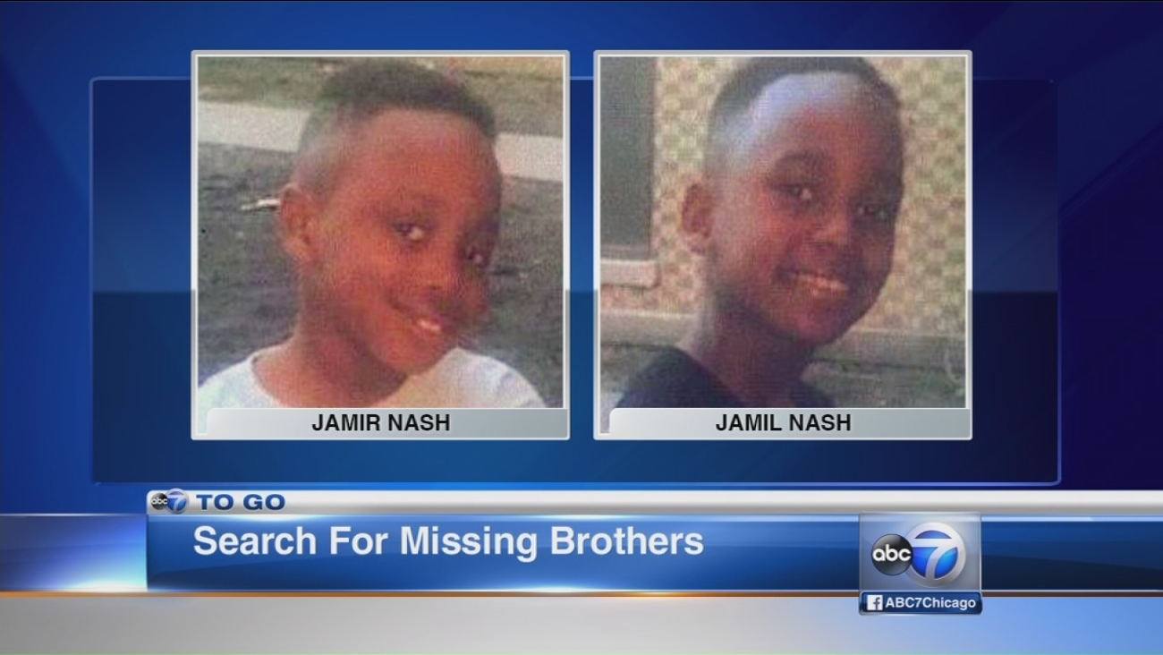 Missing boys believed to be with father