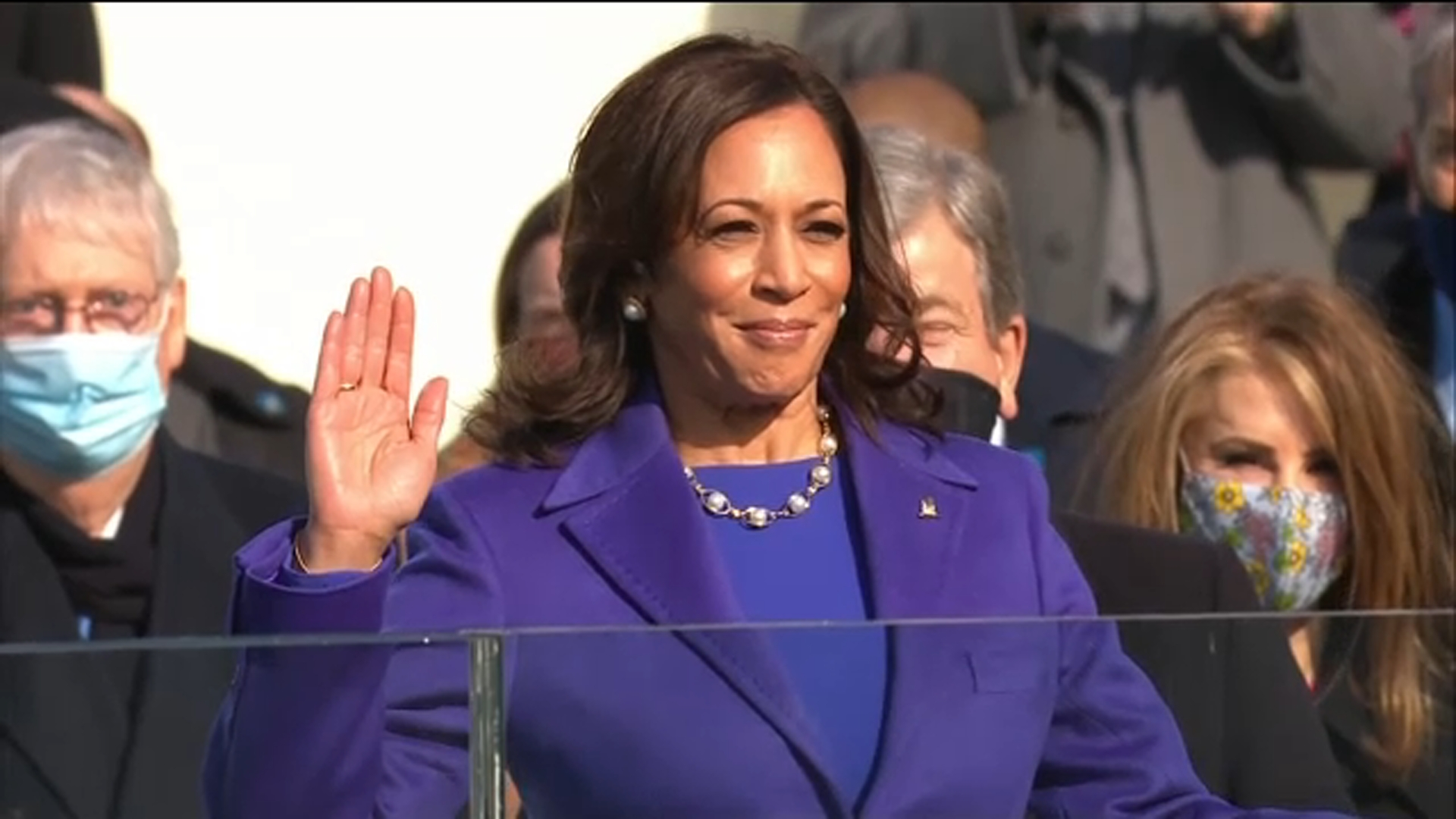 Vice President Kamala Harris sworn in, opening new chapter in US politics on Inauguration Day