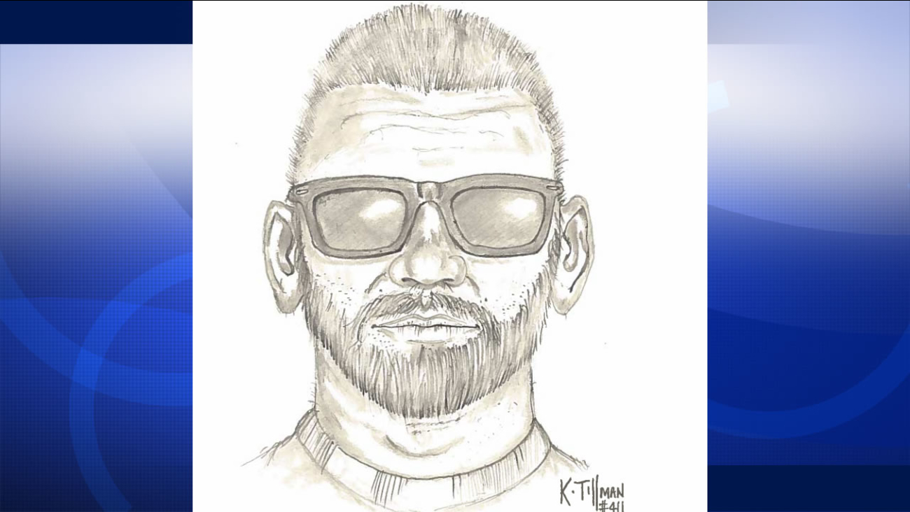 San Ramon police are looking for a man accused of grabbing a girl and trying to pull her into his van, Sept. 14, 2015.
