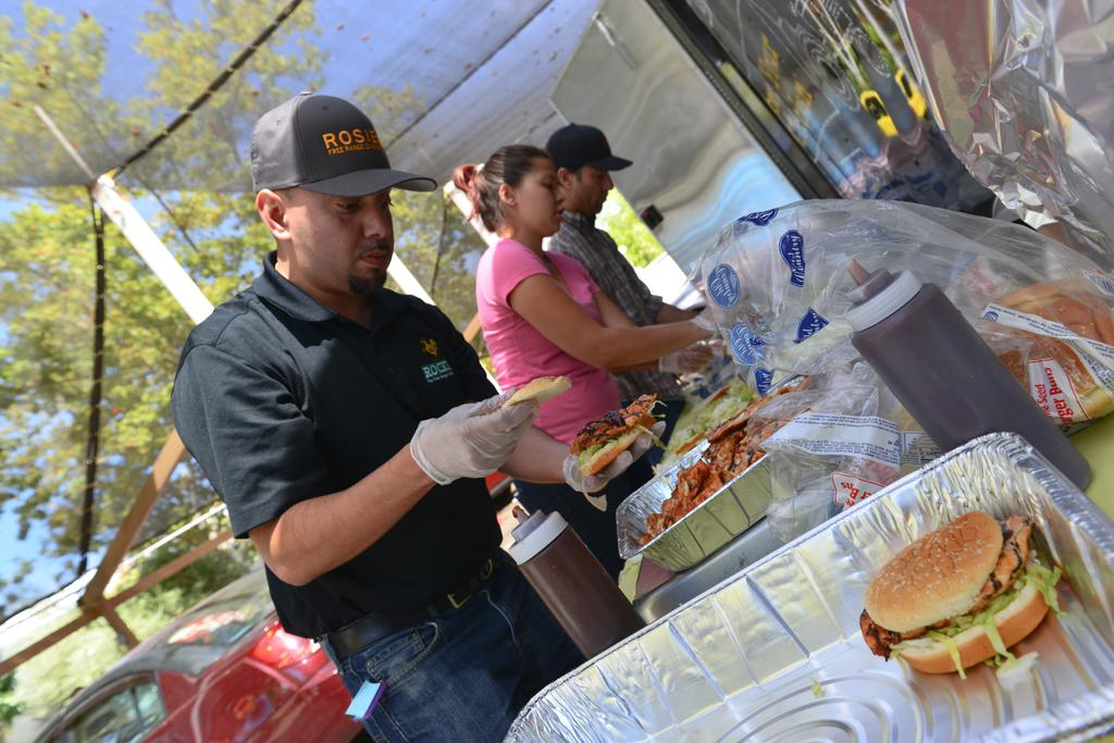 "<div class=""meta image-caption""><div class=""origin-logo origin-image none""><span>none</span></div><span class=""caption-text"">Volunteers cook food for evacuees at the Napa County Fairgrounds in Calistoga, Calif. on Tuesday, September 15, 2015. (KGO-TV)</span></div>"