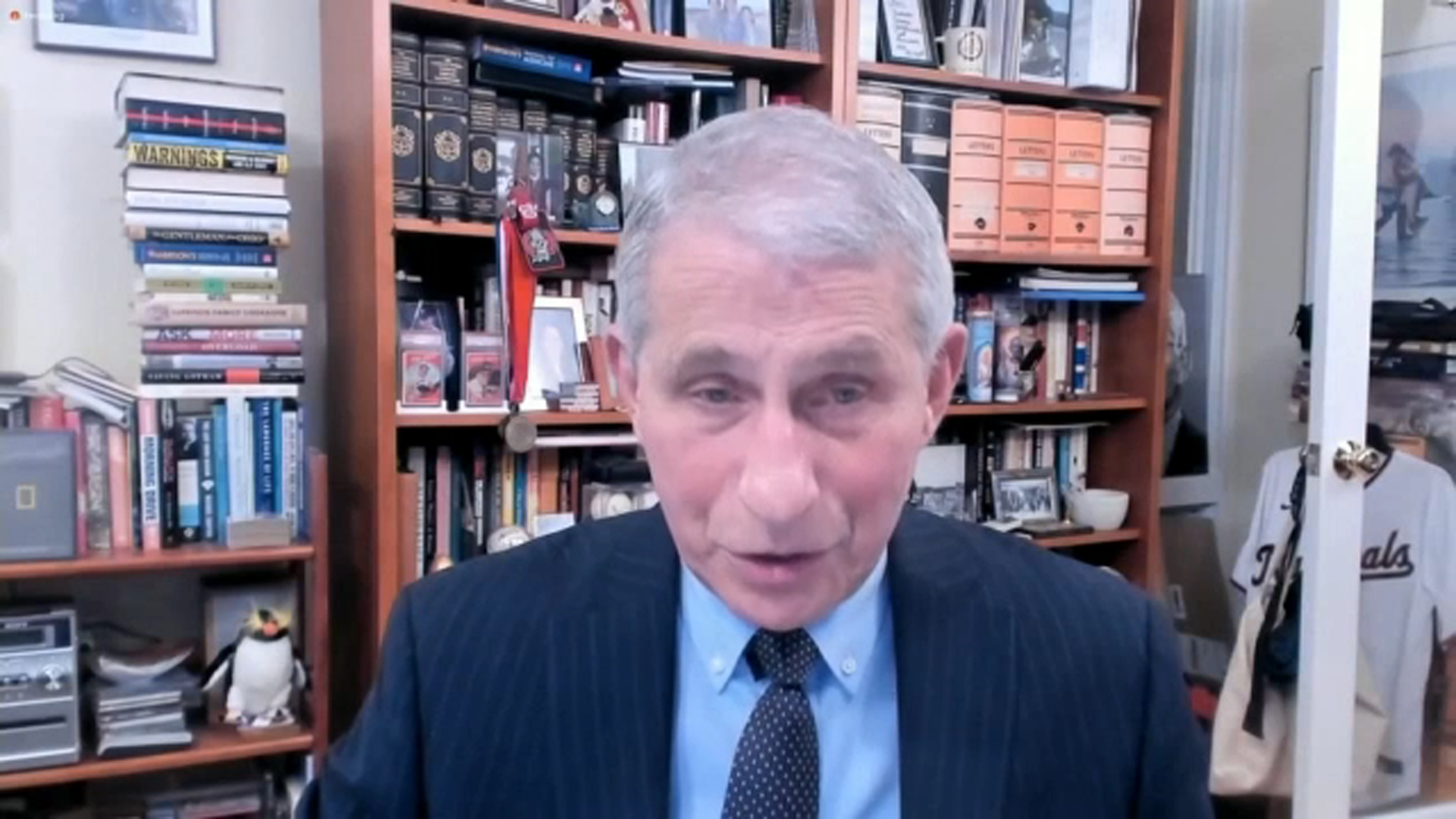 Dr. Fauci lays out President Biden's support for WHO after Trump criticism