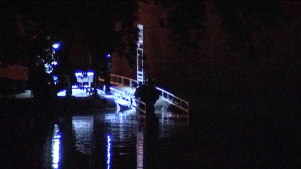Police searched the Chicago River for a man they were chasing overnight in Chicago's Albany Park neighborhood.