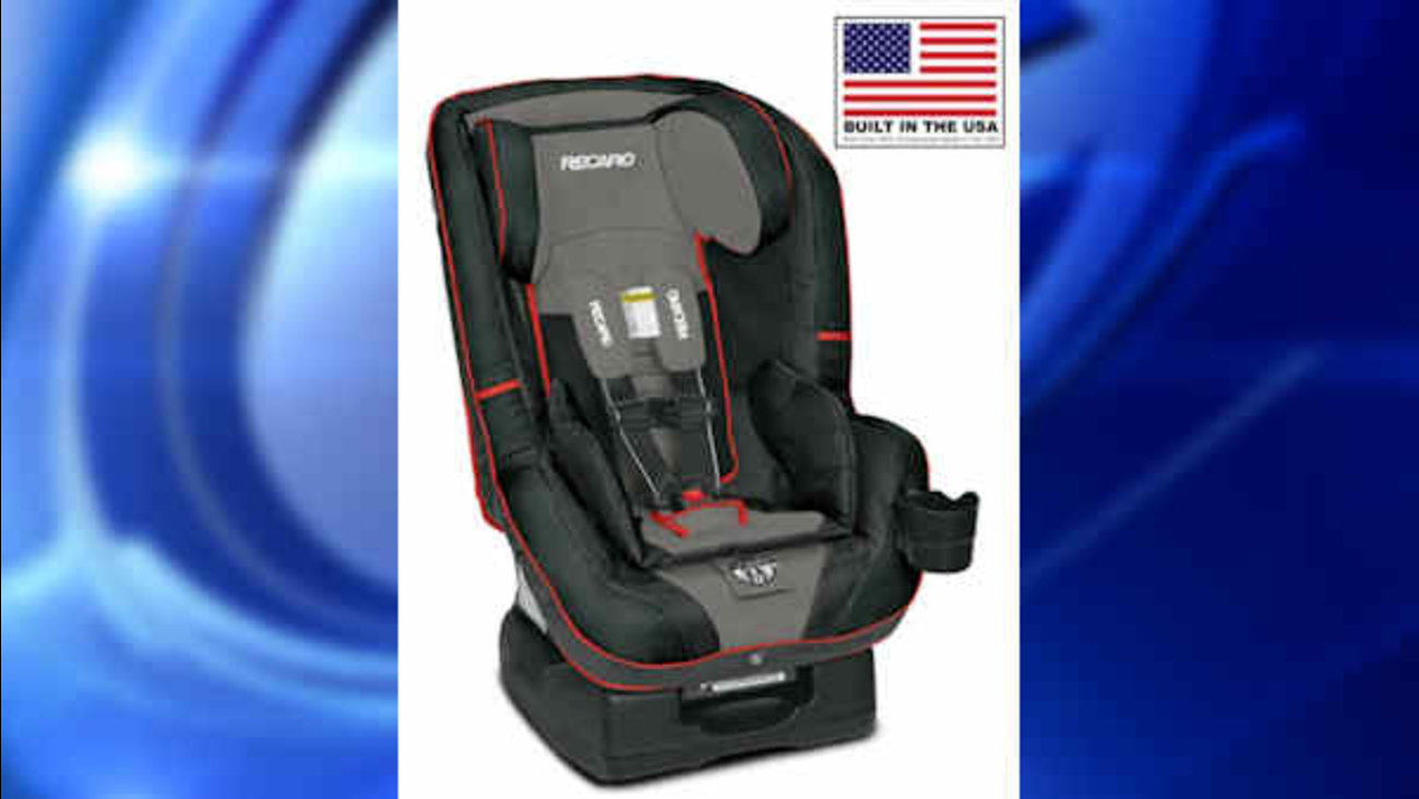 Recaro Recalls Child Car Seats Top Tether Can Come Loose