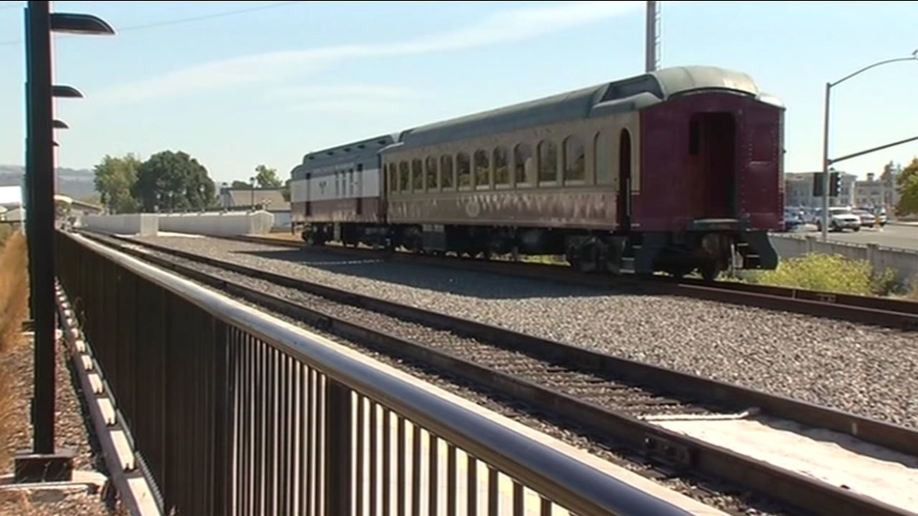 FILE: The Napa Valley wine train has been sold for an undisclosed amount, despite a widely-publicized racial incident.