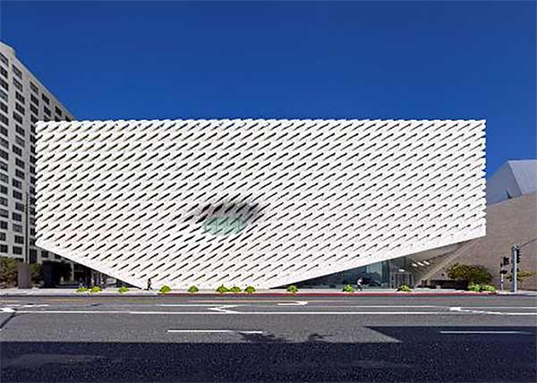 "<div class=""meta image-caption""><div class=""origin-logo origin-image none""><span>none</span></div><span class=""caption-text"">The Broad is located at 221 S. Grand Avenue in downtown Los Angeles. (Photo by Benny Chan courtesy of The Broad and Diller Scofidio + Renfro)</span></div>"