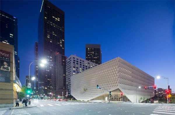 "<div class=""meta image-caption""><div class=""origin-logo origin-image none""><span>none</span></div><span class=""caption-text"">The Broad is located at 221 S. Grand Avenue in downtown Los Angeles. (Photo by Iwan Baan courtesy of The Broad and Diller Scofidio + Renfro)</span></div>"