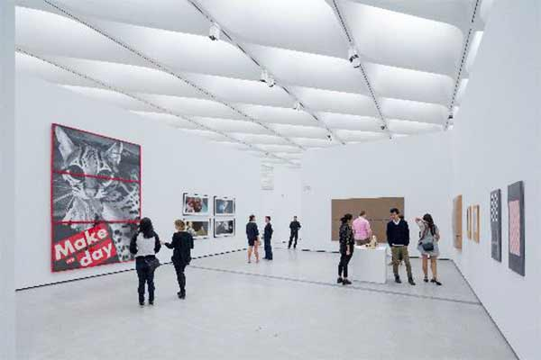 "<div class=""meta image-caption""><div class=""origin-logo origin-image none""><span>none</span></div><span class=""caption-text"">The installation of works by Barbara Kruger, Cindy Sherman, Richard Prince and Sherrie Levine in The Broad's third-floor galleries. (Photo by Iwan Baan courtesy of The Broad and Diller Scofidio + Renfro)</span></div>"