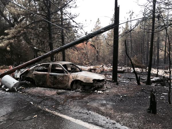 "<div class=""meta image-caption""><div class=""origin-logo origin-image none""><span>none</span></div><span class=""caption-text"">A car burned by the Valley Fire is seen at Gifford Springs at Mapes in this image on September 16, 2015. (KGO-TV)</span></div>"