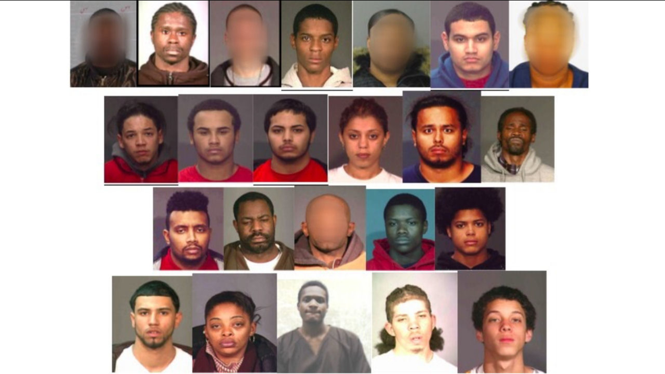 27 members of Bronx gang indicted on 97 counts, including murder