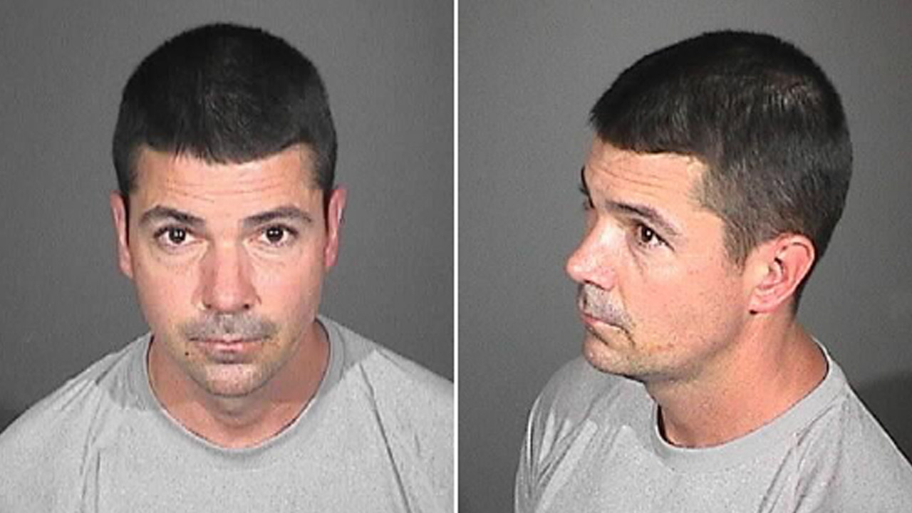 Richard Loken, 38, is shown in a mugshot from the El Monte Police Department taken on Wednesday, Sept. 16, 2015.
