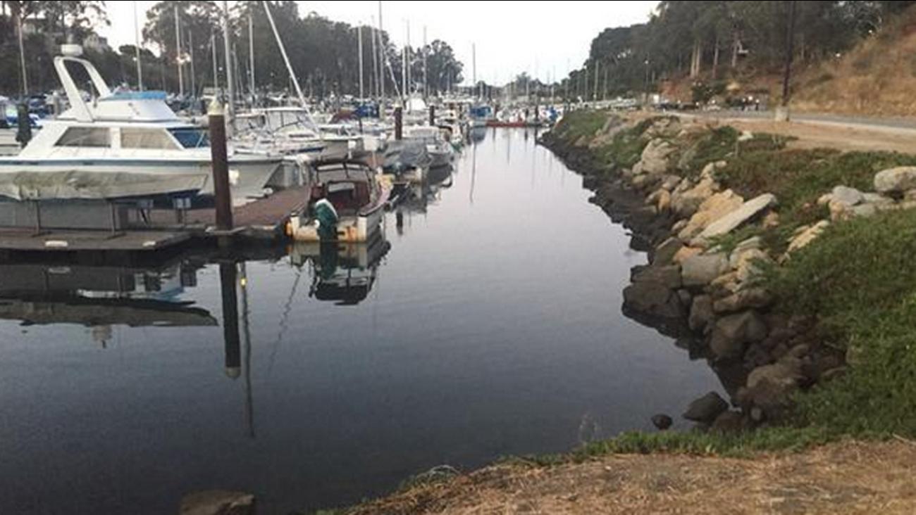 Santa Cruz Harbor, Thursday, September 17, 2015.