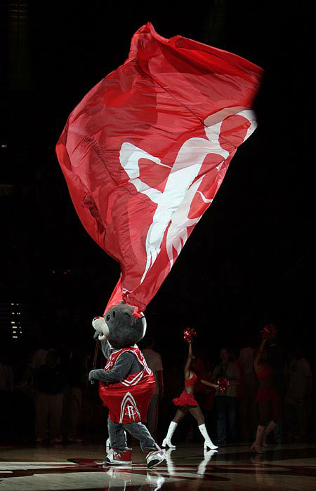 "<div class=""meta image-caption""><div class=""origin-logo origin-image none""><span>none</span></div><span class=""caption-text"">Houston Rockets mascot Clutch during player introductions at a basketball game in Houston on Tuesday, April 7, 2009. (AP Photo/ Bob Levey)</span></div>"