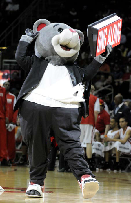 "<div class=""meta image-caption""><div class=""origin-logo origin-image none""><span>none</span></div><span class=""caption-text"">Houston Rockets mascot Clutch the Bear during the first half of an NBA basketball game against the Indiana Pacers Saturday, March 5, 2011, in Houston. (AP Photo/ Pat Sullivan)</span></div>"