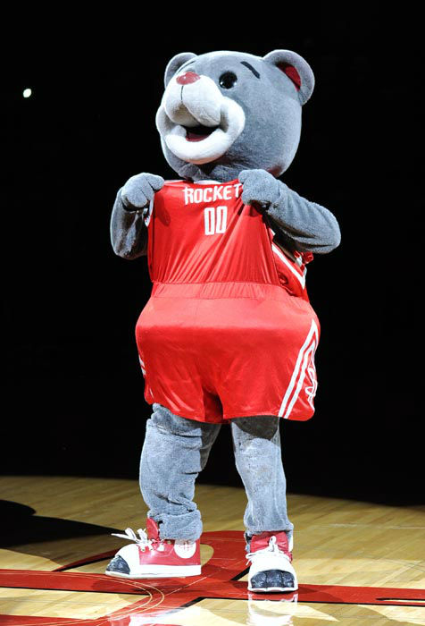 "<div class=""meta image-caption""><div class=""origin-logo origin-image none""><span>none</span></div><span class=""caption-text"">Houston Rockets mascot Clutch before a preseason NBA basketball game against the New Orleans Hornets Friday, Oct. 12, 2012, in Houston. (AP Photo/ Pat Sullivan)</span></div>"