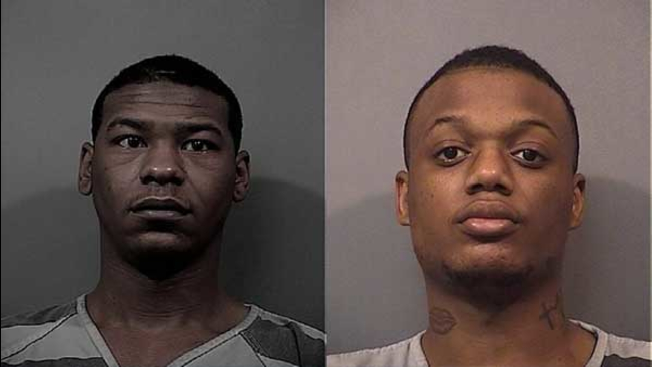 Darran Barnes, 23, and Clarence Hutchinson, 22, were charged with six counts of felony arson in connection with two fires at abandoned buildings in Gary, Indiana.