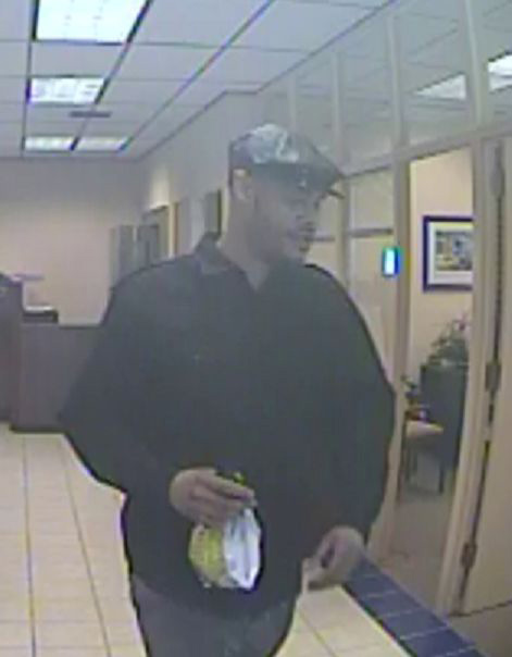Man wanted in bank robbery in Newark, Delaware