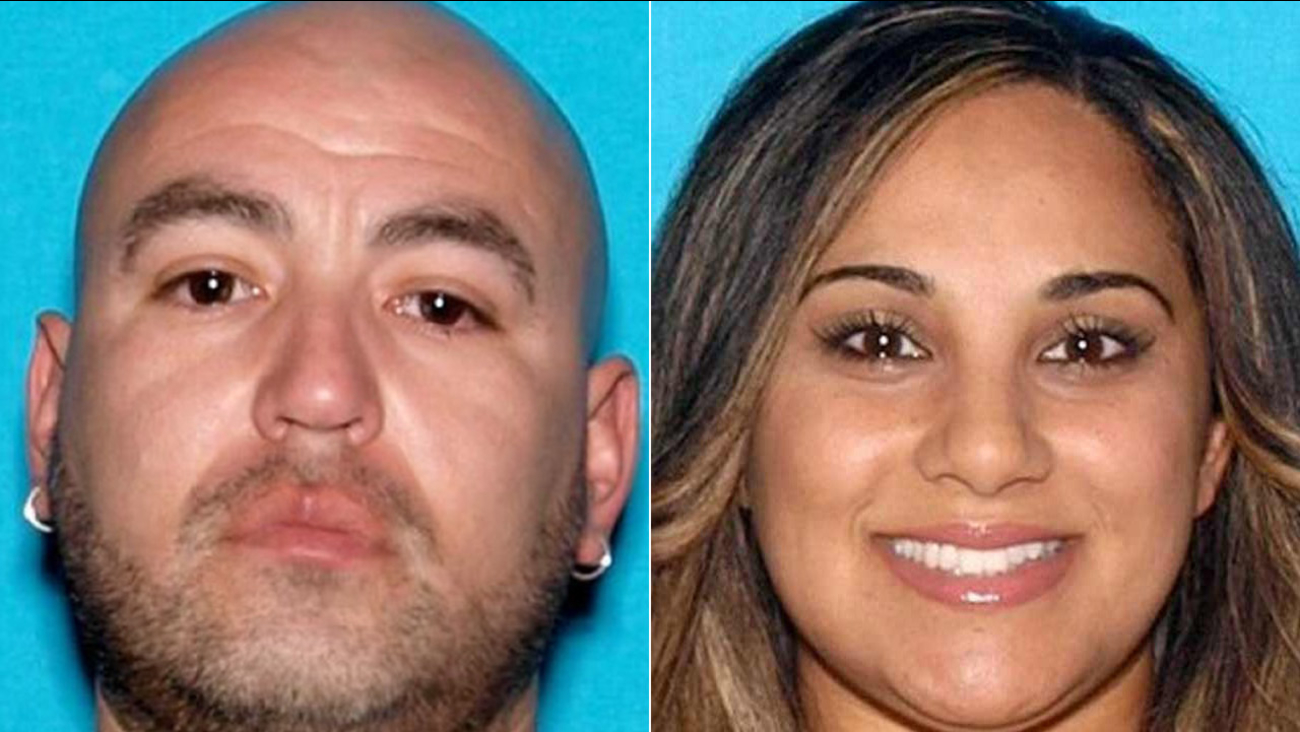 Tomas Sarinina (left) is wanted in the death of Sally Mityas (right).