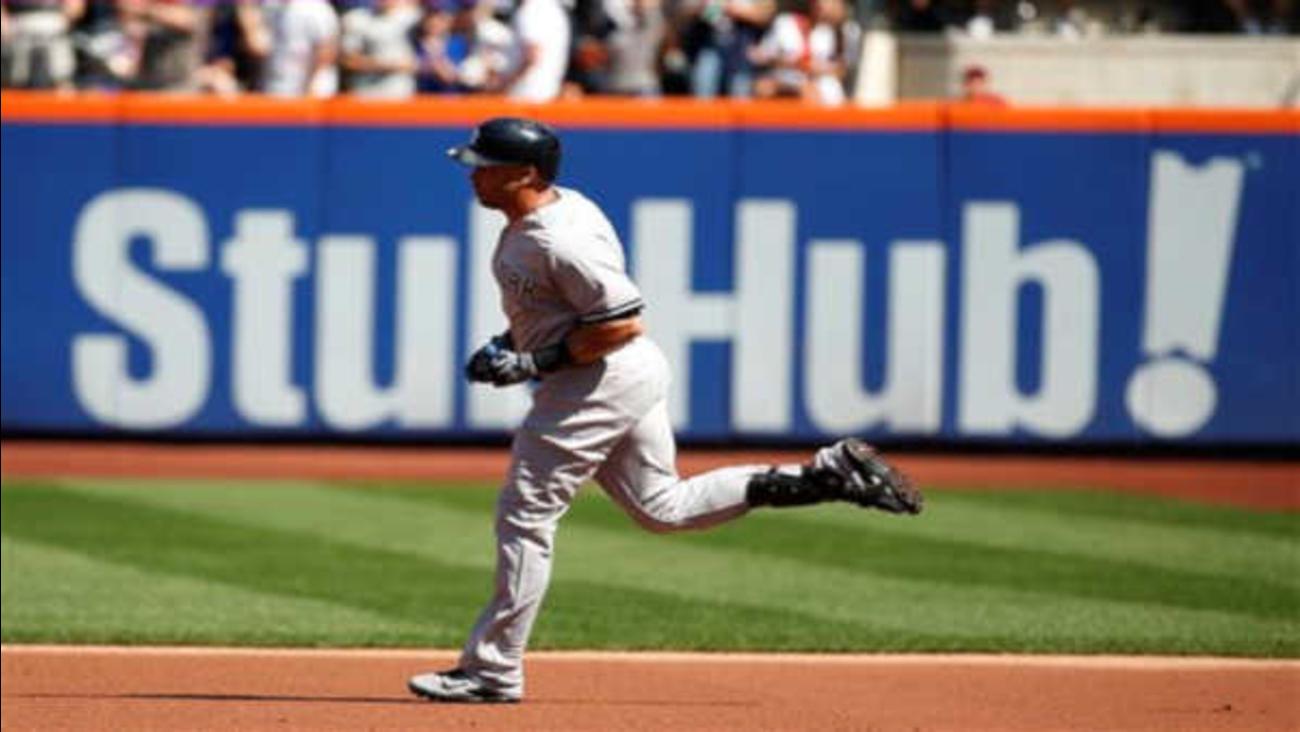 Subway Series Carlos Beltran Brian Mccann Homer Yankees