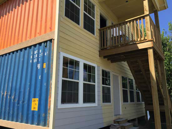 "<div class=""meta image-caption""><div class=""origin-logo origin-image none""><span>none</span></div><span class=""caption-text"">An exterior view of the shipping container house (KTRK Photo)</span></div>"