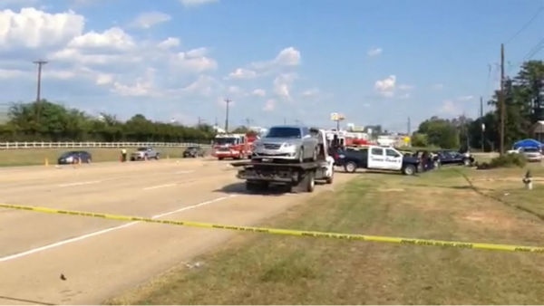 "<div class=""meta image-caption""><div class=""origin-logo origin-image none""><span>none</span></div><span class=""caption-text"">At least four people are dead after a major accident in Conroe on the eastbound lanes of SH 105.</span></div>"