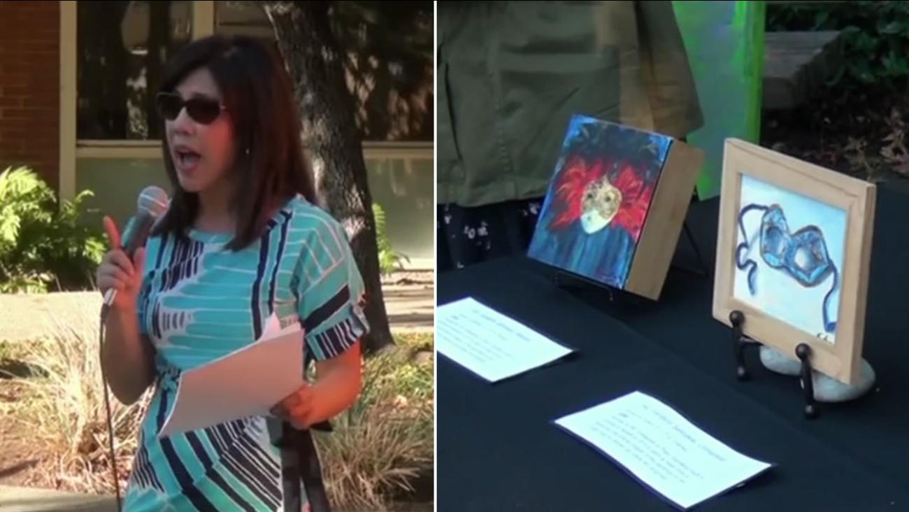 ABC7 Morning News Anchor Kristen Sze emceed the fundraiser for Kids & Art on Saturday, September 19, 2015 in Palo Alto, Calif.