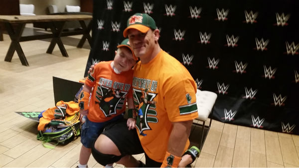 "<div class=""meta image-caption""><div class=""origin-logo origin-image none""><span>none</span></div><span class=""caption-text"">Eight-year-old Mason Leibham got his wish to meet WWE Wrestler John Cena thanks to a stranger. (KTRK/Telly Bistis)</span></div>"