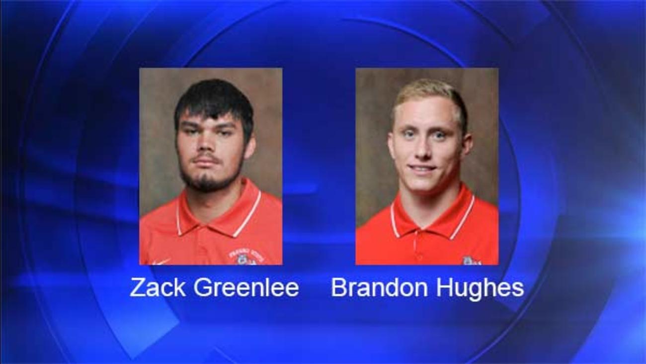 Bulldog's QB Zack Greenlee and linebacker Brandon Hughes arrested