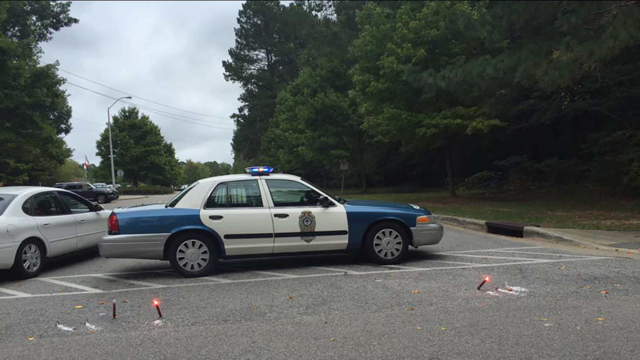 Sanderson High School on lockdown after a bomb threat