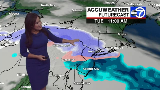 How much snow should the Tri-State expect Tuesday?
