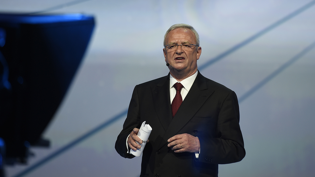 Martin Winterkorn during the Volkswagen group night on the eve of the Frankfurt Auto Show IAA in Frankfurt, Germany, Monday, Sept. 14, 2015.